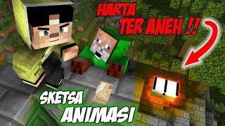 Kocak !! Erpan Mencari Harta Karun - Minecraft Animation Indonesia