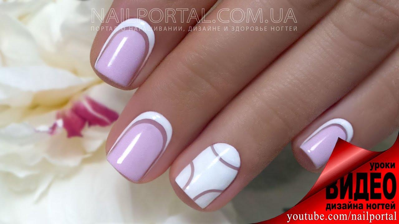 шеллак ногти дизайн фото