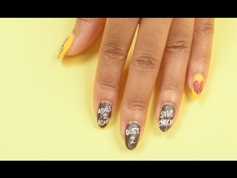 Lemonade Nail Art To Channel Your Inner Beyonce Youtube