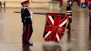جلالةُ الملك يرعى حفلَ تخريجِ ضباط ساندهيرست البريطانيةِ الذي يضمُ وليَ العهد - (11-8-2017)