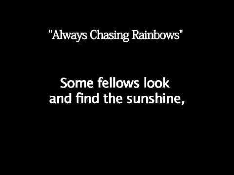 The Wizard Audition - I'm Always Chasing Rainbows Karaoke