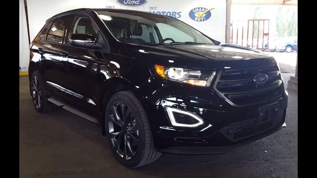 2016 Ford Edge 4dr Sport Awd Sport Utility Youtube