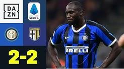 Inter verpasst gegen Parma die Tabellenführung: Inter Mailand - Parma 2:2   DAZN Highlights