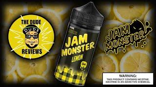 Jam Monster Lemon/ E-Liquid Review