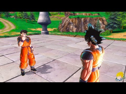 Dragon Ball Xenoverse 2 : Future Gohan Meets Goku Again | I'm Gohan, son of Goku! Story DLC