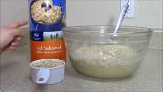 How To Bake Home-made Oatmeal Cookies