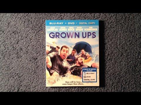 Unboxing Grown Ups Blu-Ray/DVD/Digital Copy