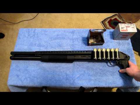 BEST HOME DEFENSE SHOTGUN - MOSSBERG 500 pistol grip