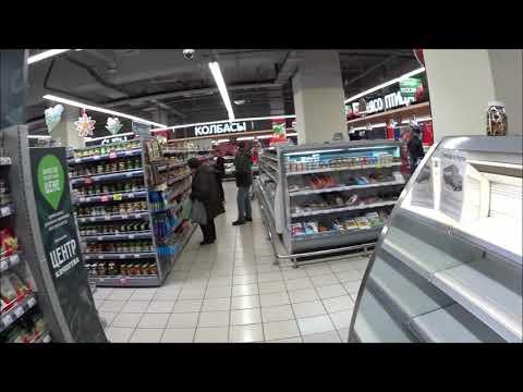 Видео: Супермаркет Перекресток: макароны, гречка, крупы, туалетная бумага