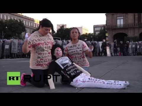 Mexico: Clashes erupt at Mexico City 'Tlatelolco massacre' anniversary protest
