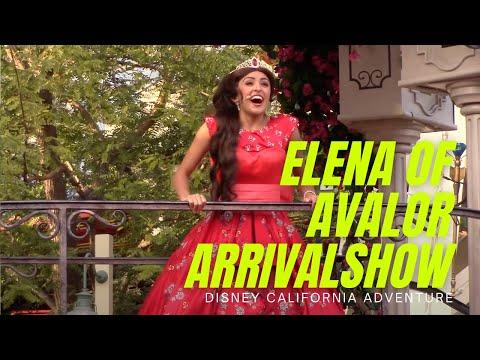 Elena of Avalor Musical Grand Arrival Show, Viva Navidad at California Adventure, Disneyland Resort