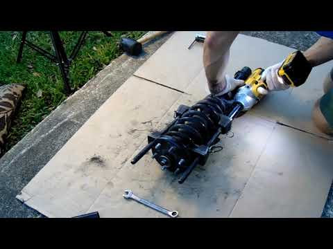 Acura front strut replacement #Acura #frontstrutreplacement