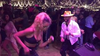 ATACA &  BERSY CORTEZ SALSA DANCE AT FLORIDITAS CLUB  2017
