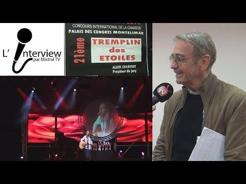 Interview Alain Chamfort, Tremplin des Etoiles Montélimar
