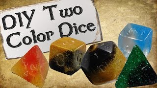 How to Make Your Own Dice Set | Two Color Dice