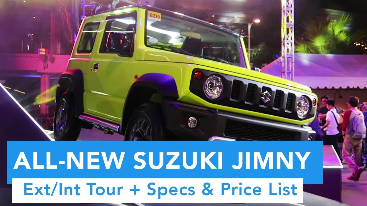 2019 All-New Suzuki Jimny Philippines Launch (Ext/Int Quick Tour and Pricing)