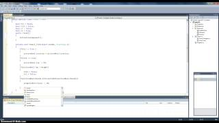How to make a game in microsoft Visual Studio C# (part 1)