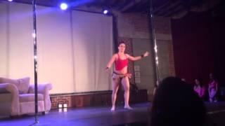 California Pole Dance Championship 2014-Candi Vastlik