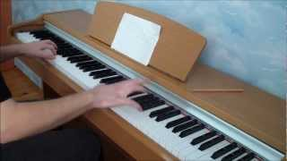 Silver Linings Playbook - End Theme (Happy Ending) Piano Cover + CHORDS