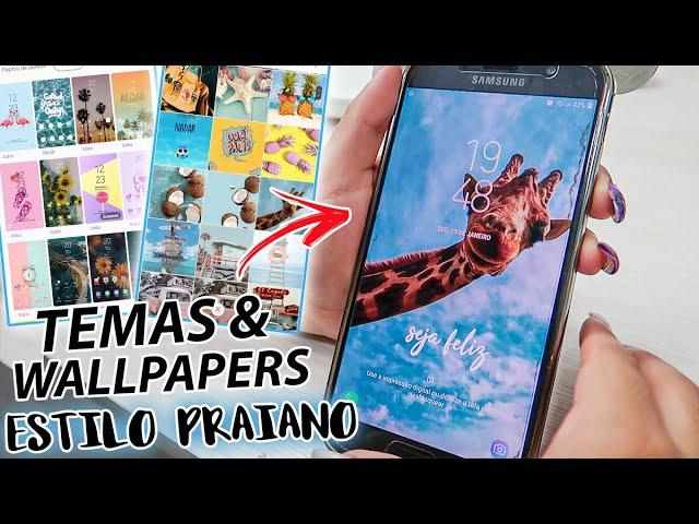 PERSONALIZAÇÃO DE VERÃO - *Wallpapers & Temas 2020*
