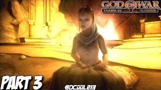 GOD OF WAR CHAINS OF OLYMPUS GAMEPLAY WALKTHROUGH PART 3 EOS, GODDESS OF DAWN - PS3 LETS PLAY