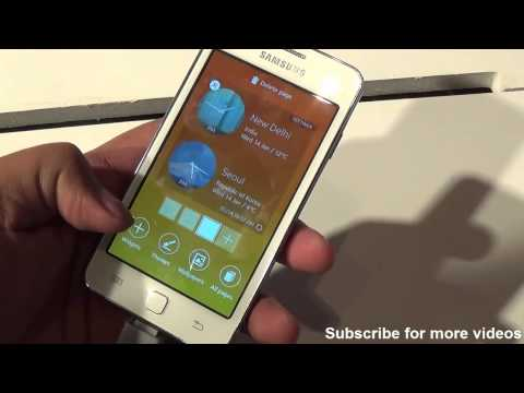Samsung Z1 Tizen OS Smartphone Hands on review - Camera, features, design