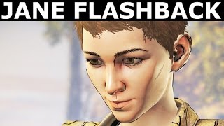 Jane Flashback Scene - The Walking Dead Episode 4 (Season 3 A New Frontier)