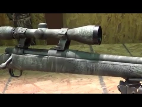 how to paint a rifle stock