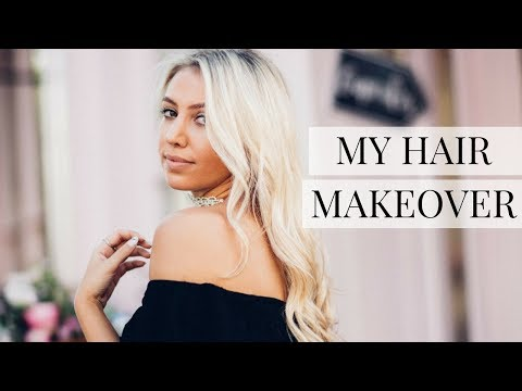 MY HAIR MAKEOVER AT NEVILLE SALON - UPDATING MY BLONDE HAIR VLOG | Scarlett London