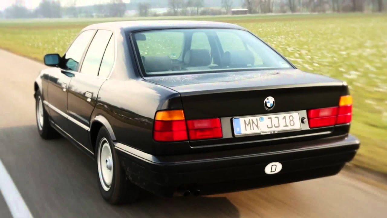 BMW 5 Series E34 history  YouTube