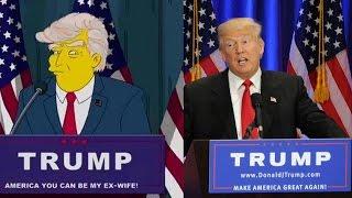 Simpsons Trump Vorhersage - Alle Hinweise & Fakten