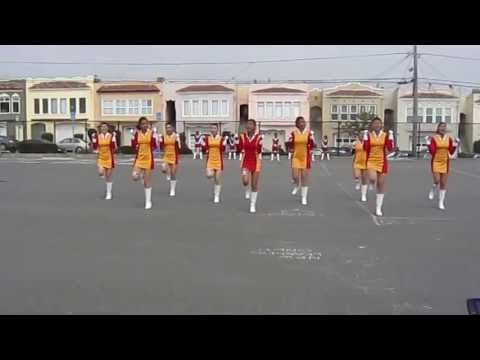 Abraham Lincoln High School Exhibition Drill Team Spring 2013