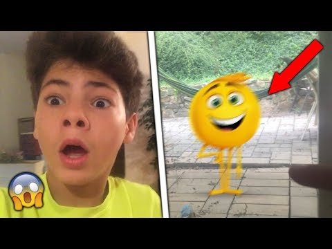 GENE THE EMOJI BROKE INSIDE MY HOUSE!!