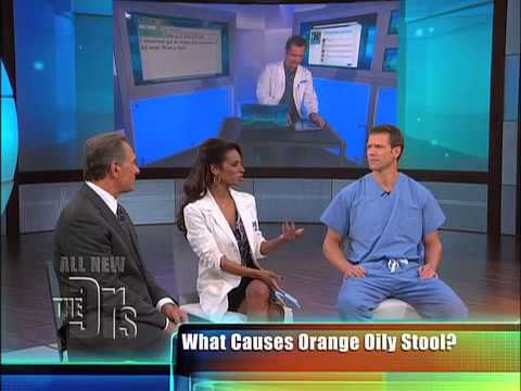 Orange Oily Stool Medical Course
