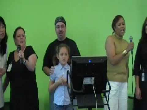 March of Dimes Charity Karaoke Singing We are Family