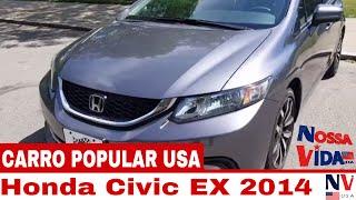 Honda Civic 2014 EX COMPLETO - Quanto Custa
