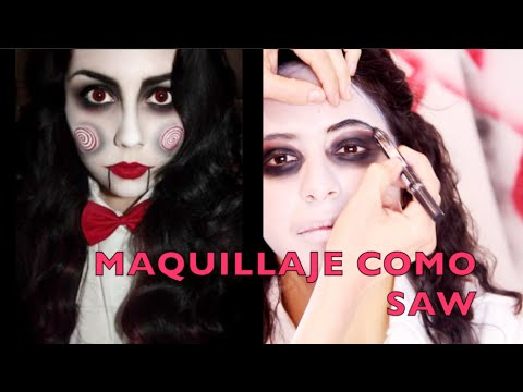 Tutorial De Maquillaje Para Halloween Saw Anastassia Sfeir Youtube