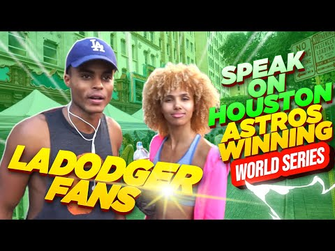 LA Dodger Fans Speak On Houston Astros Winning World Series (Video)