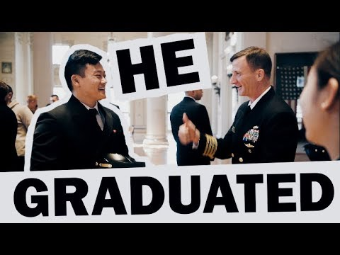 A Naval Academy Graduation