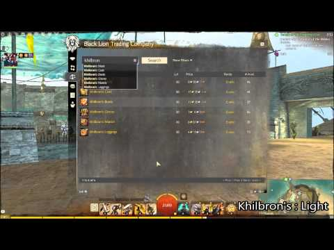 Guild Wars 2 - How To Get Rabid Armour And Trinkets! - W/Adam