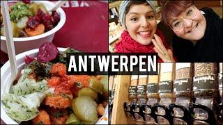 Antwerpen met De Groene Meisjes
