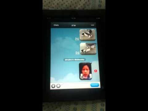 How to send a photo via line