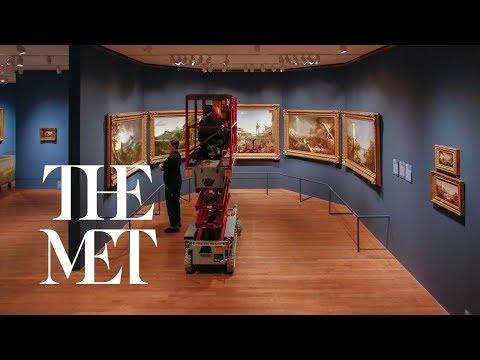 Thomas Cole's Journey: Installation Time-Lapse