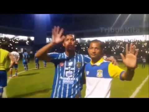 Merinding!!! Balistik Berjanji Untuk Setia di Pertandingan Terakhir Persiba Balikpapan