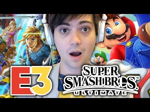 RÉACTION NINTENDO DIRECT E3 2018 ! SMASH BROS ULTIMATE, SUPER MARIO PARTY, FORTNITE ?!