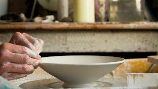 Throwing a Small Porcelain Bowl - Matt Horne Pottery