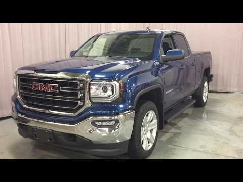 2019 GMC Sierra 1500 Limited 4WD Double Cab SLE Z71 Heated Front Seats Blue Oshawa ON Stock #190741