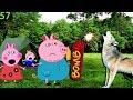 Мультики свинка пеппа новые серии на русском 57  ВОЛК НАПАЛ Мультфильмы для детей Свинка Пеппа