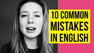 10 Extremely Common Mistakes That English Learners Make thumbnail