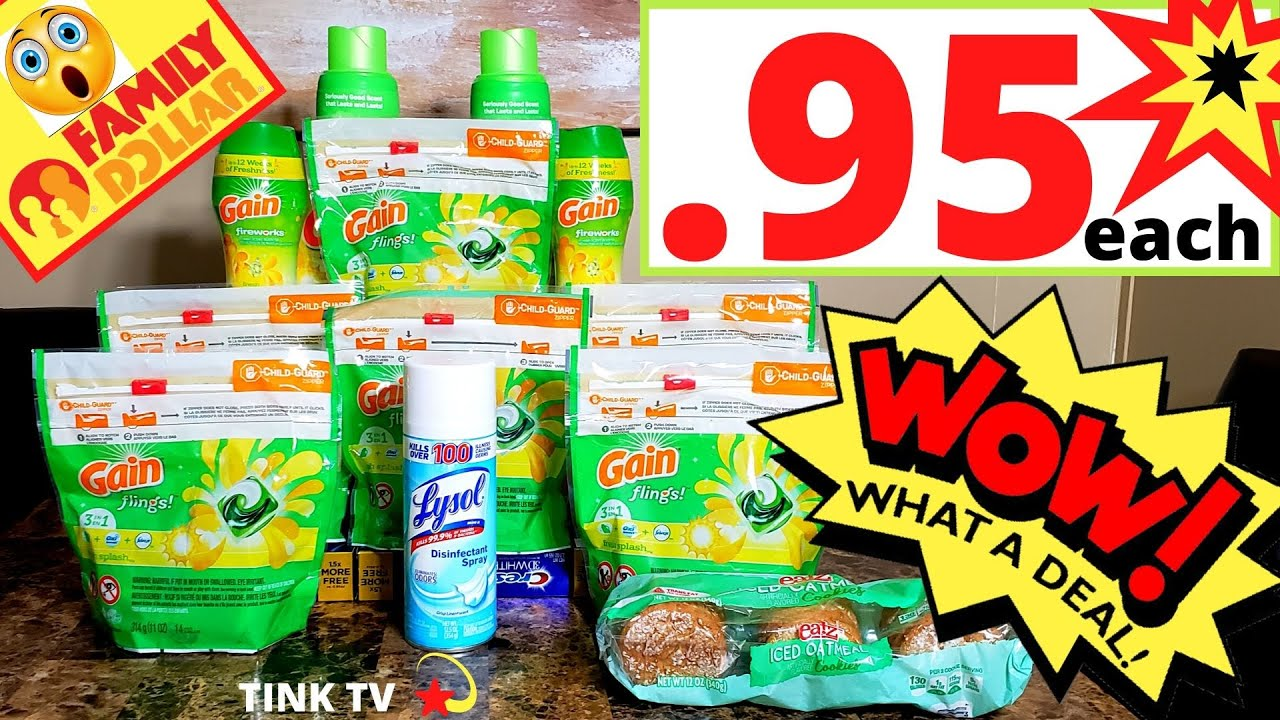 💥FAMILY DOLLAR COUPONING💥CHEAP GAIN AT FAMILY DOLLAR THIS WEEK💥SEE HOW I PAID ONLY .95 EACH FOR GAIN